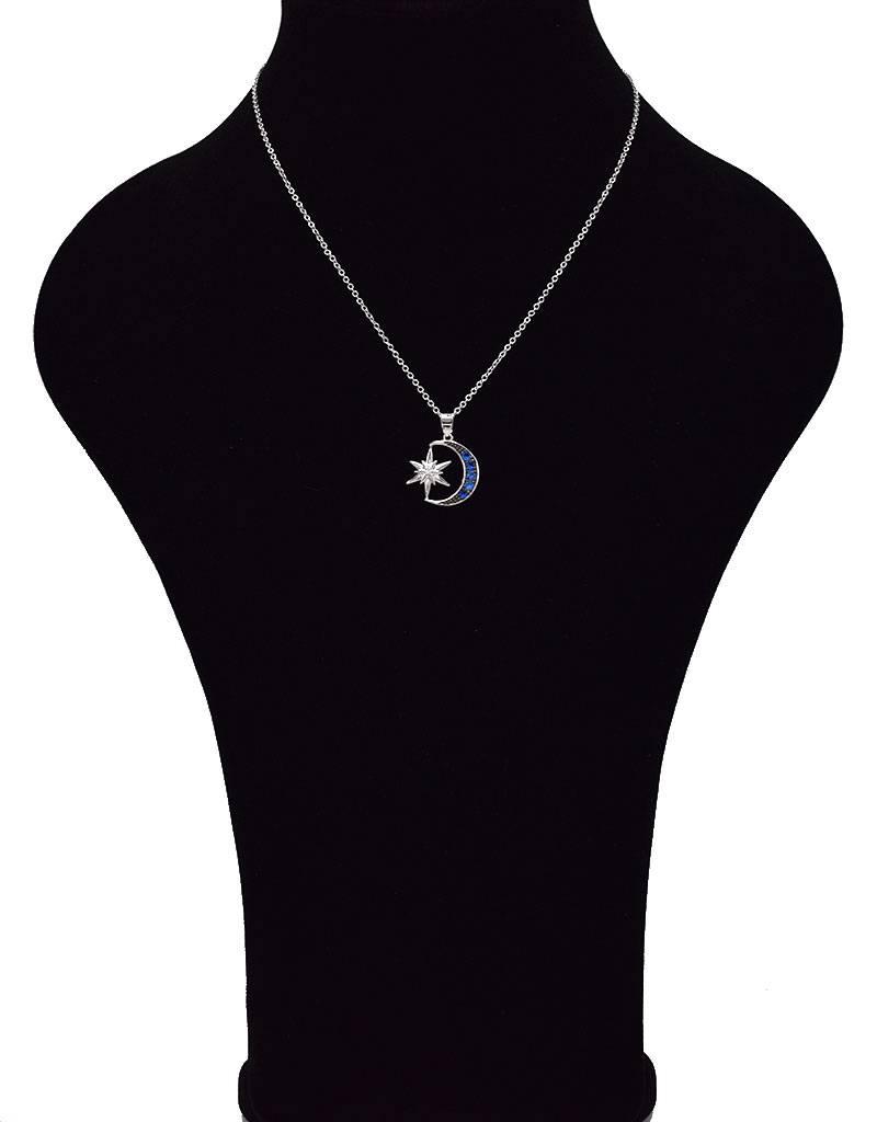 Set halsketting, ring en oorbellen