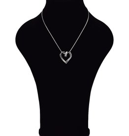 Halsketting met hartvorm