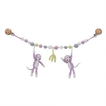 Sindibaba stroller chain monkeys