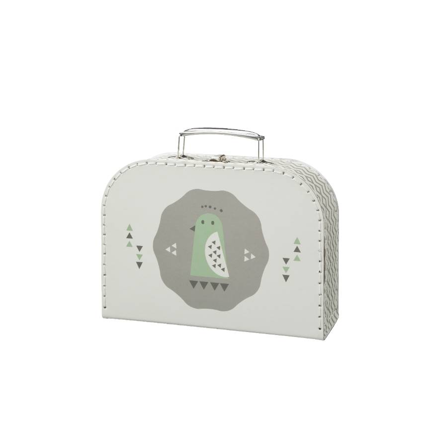 Fresk Little Suitcase Penguin grey small