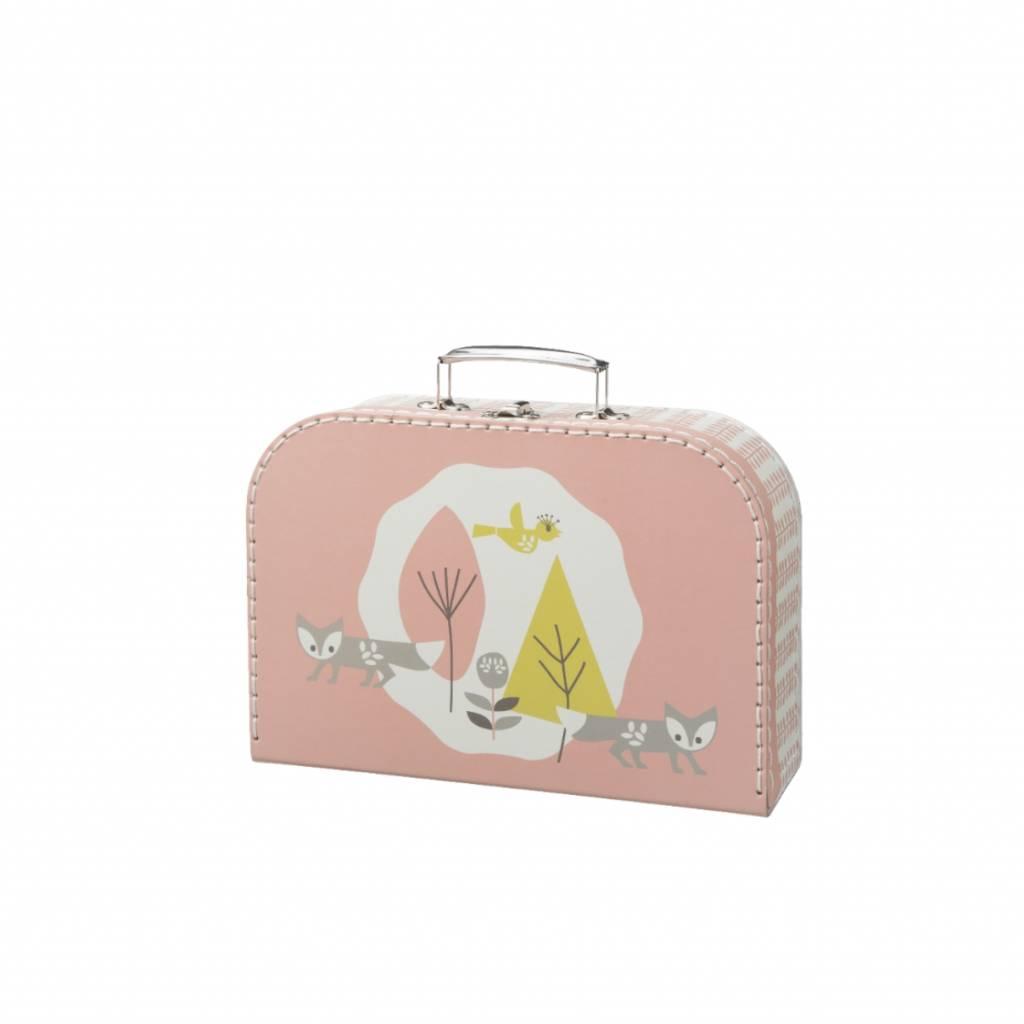 Fresk Suitcase Fox mellow rose large