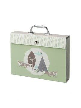 Fresk Drawings Folder Fox blue