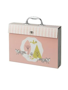 Fresk Drawings Folder Fox pink