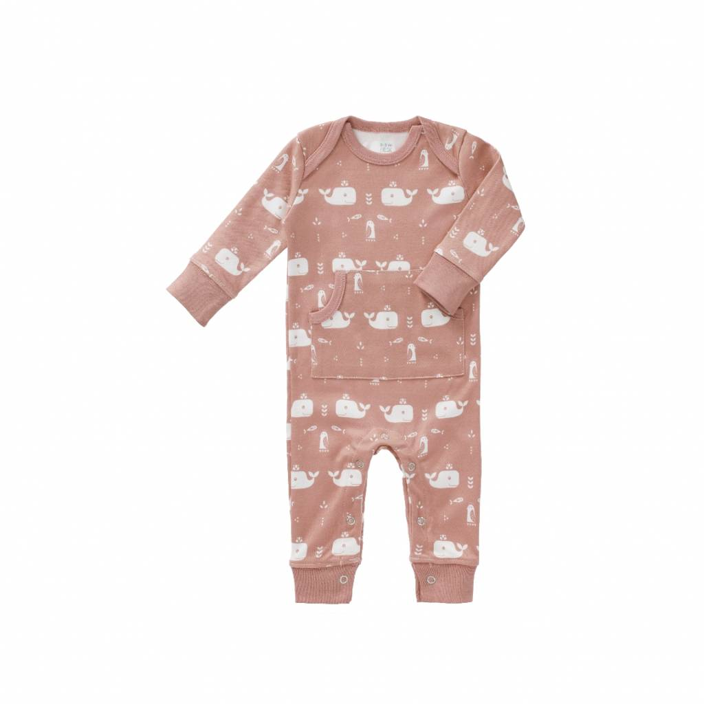 Fresk Jumpsuit Whale mellow rose