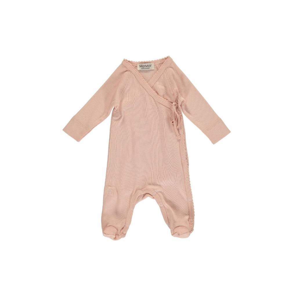 MarMar Copenhagen Rubetta modal new born jumpsuit – roze /cameo rose