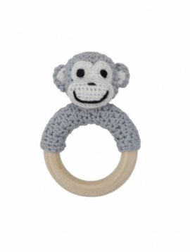 Sindibaba ring rattle monkey