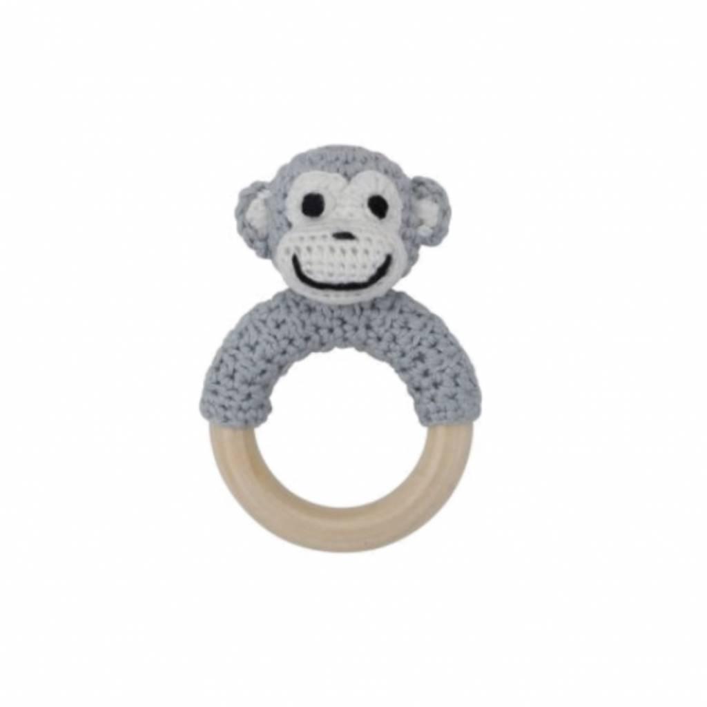 Sindibaba ring rattle monkey