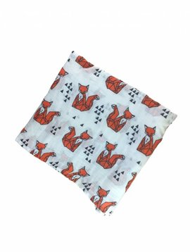 Foxy fox swaddle
