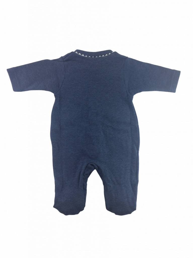 Babidu Babysuit flags - dark blue