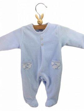 Babidu Babysuit dear - blue
