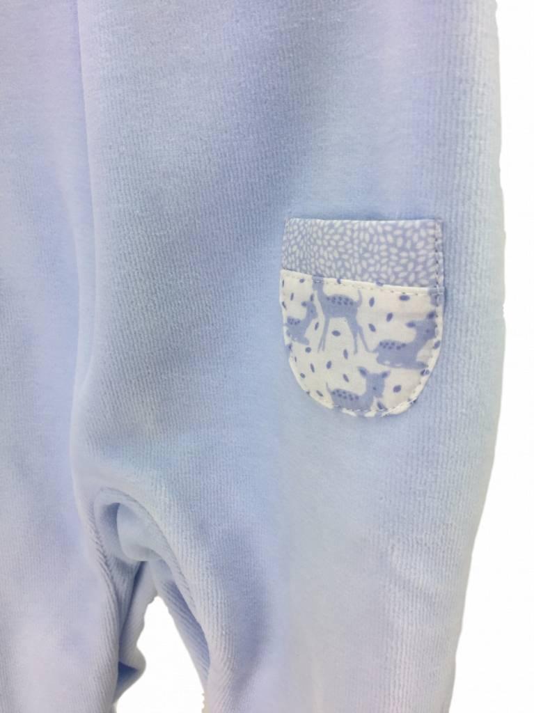 Babidu Babypakje hertjes - blauw