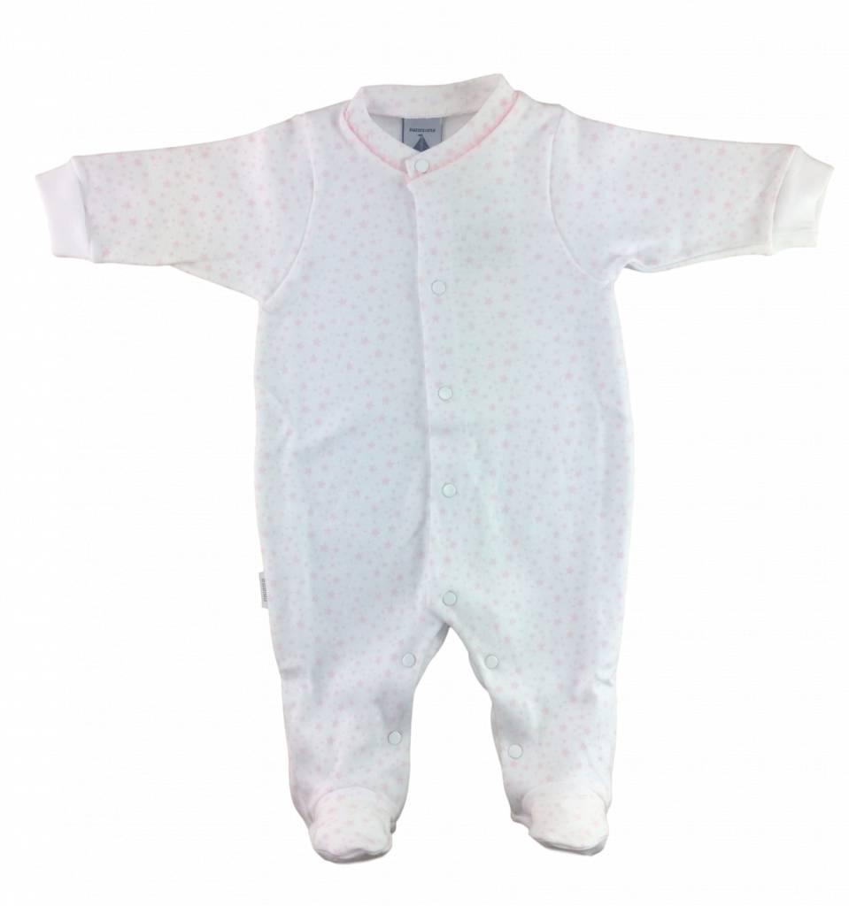 Babidu Babypakje sterretjes - wit en roze