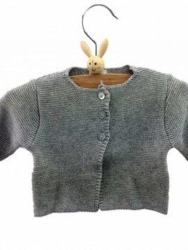 Babidu Baby vest – grey