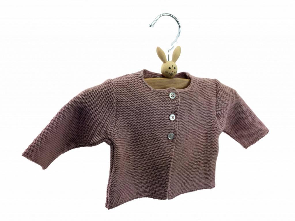 Babidu Baby vest – pink
