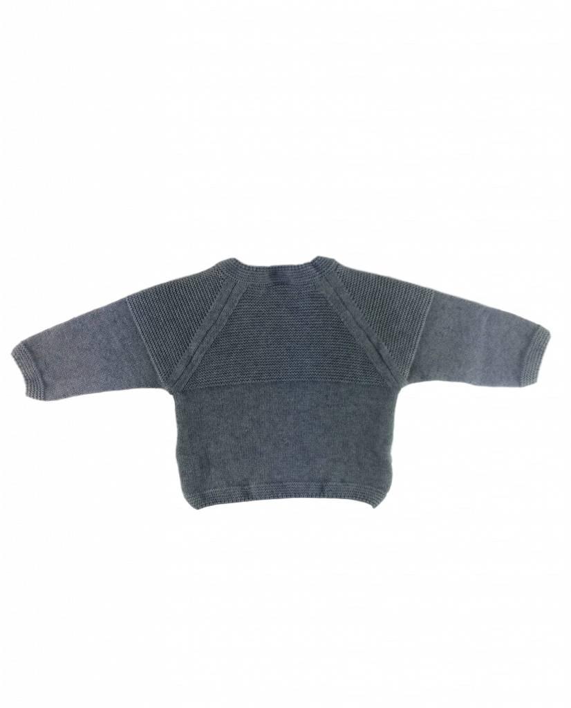 Babidu Babysuit wool - grey