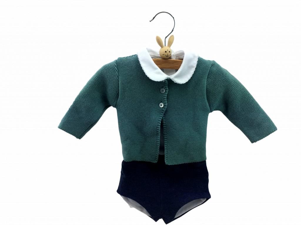 Babidu Baby broekje – bloomer – donkerblauw