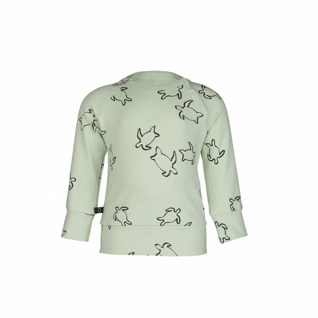 nOeser Turtle Sweater mintgroen