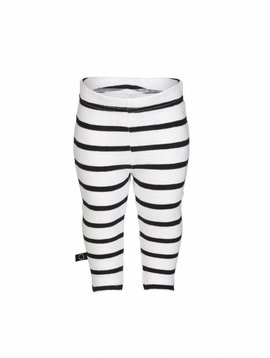 nOeser Legging black white stripes