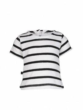 nOeser Top black white stripes