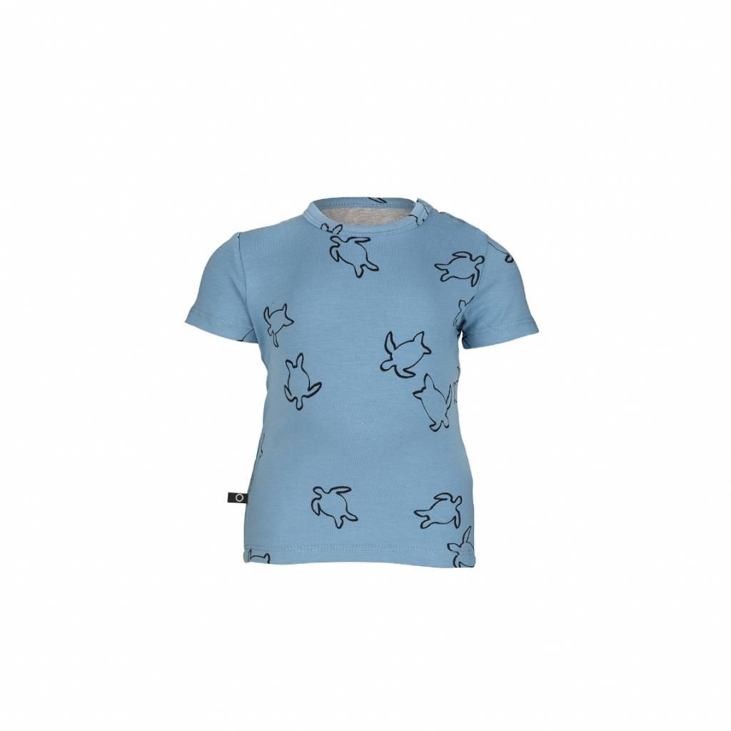 nOeser T-shirt turtle blue