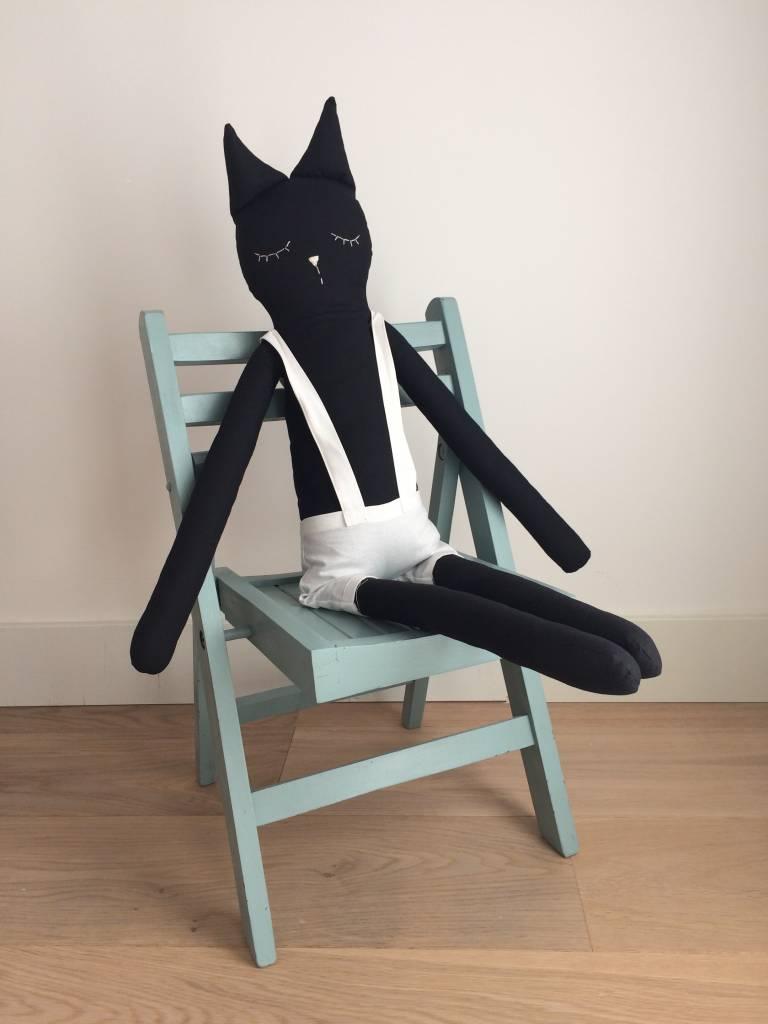 Ilka Handmade Corky Cat cuddle
