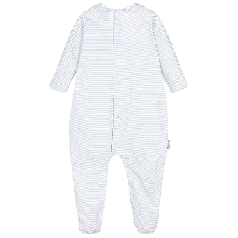 Babidu Babypakje blauw wit gestreept
