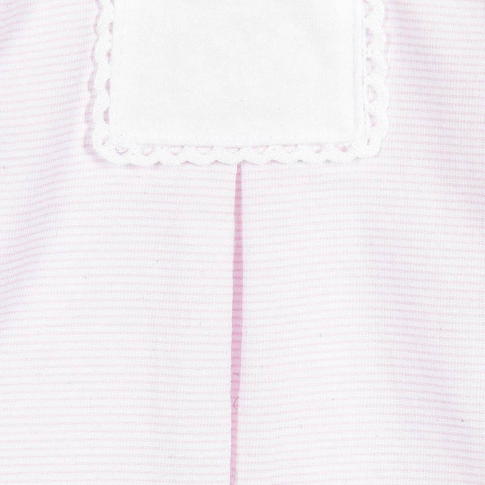 Babidu Roze wit gestreepte babyset - babytop met broek