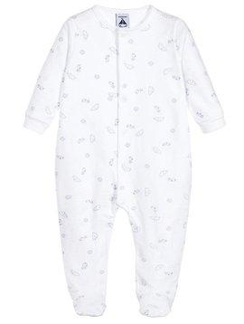 Babidu Babypakje met wolkjes – grijs