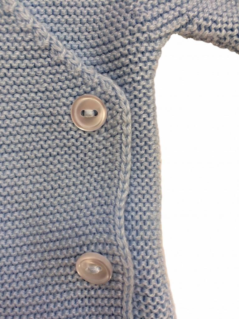 Babidu Baby vest light blue