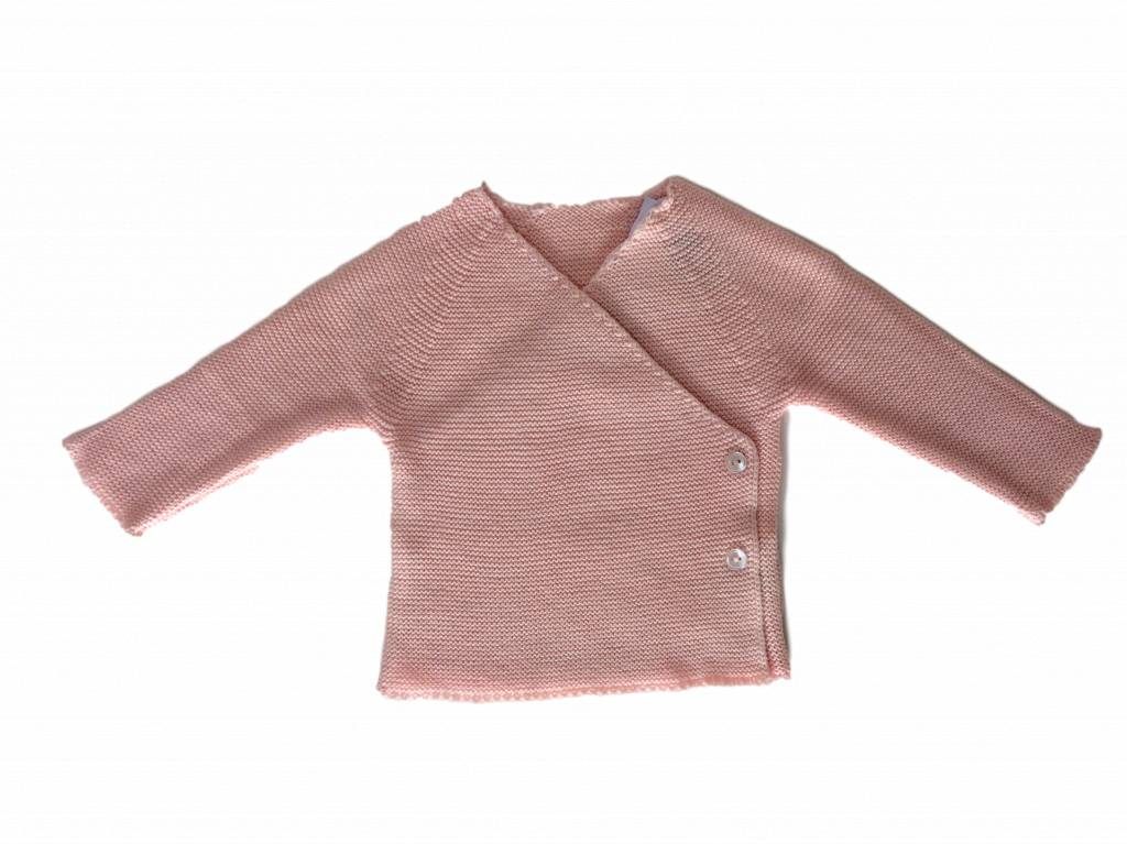 Babidu Baby vest light pink