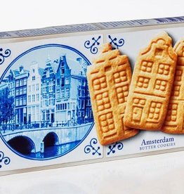 Delft Blue Stroopwafel Experience Amsterdam Butter Cookies