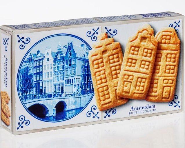 Delft Blue Stroopwafel Experience Delft Blue Amsterdam Boterkoekjes Doos