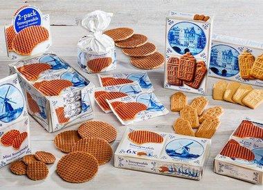 Holland Delft Blue Stroopwafels