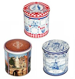 Stroopwafel World Dutch Original Tripple Stroopwafel Tins Set (3)