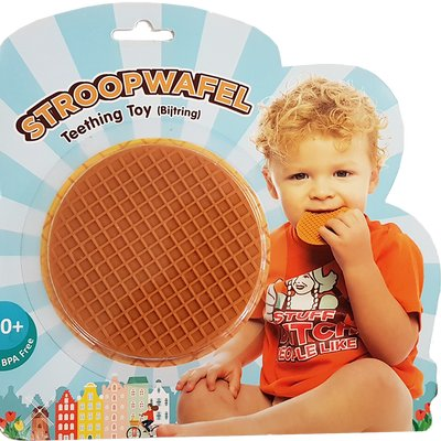 Stuff Dutch People Like Stroopwafel Baby Teething Toy