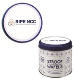 Customize Stroopwafel Tin including stroopwafels