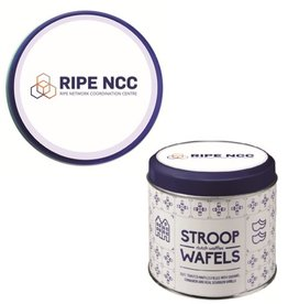 Customize Stroopwafel Tin including stroopwafels