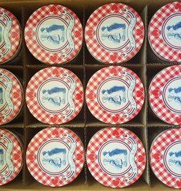 Stroopwafel Blikken Liefde (doos 12 blikken)