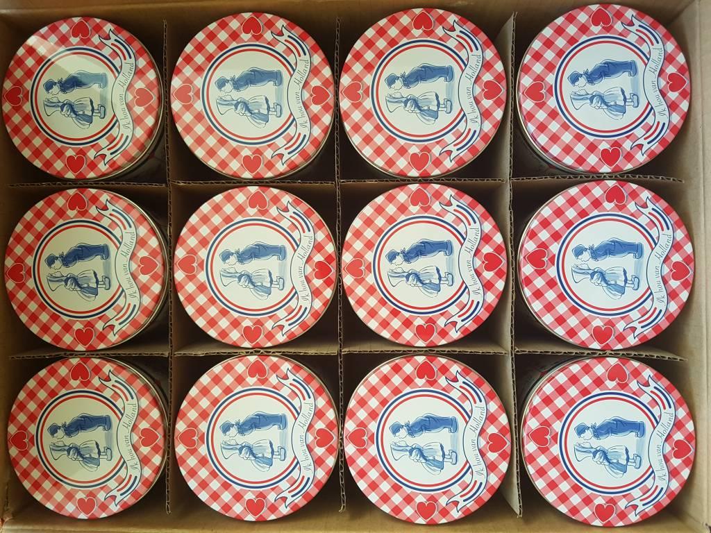 Stroopwafel Love Tin Box (box 12 tins)