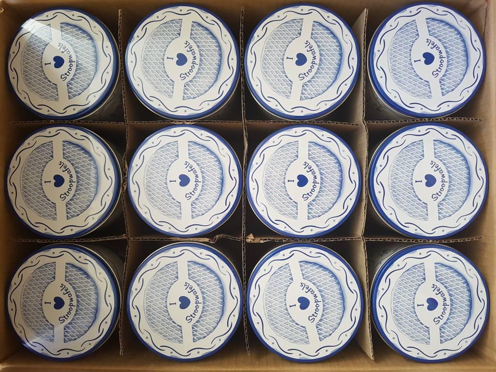 Stroopwafel Delft Blue Tin Box (12)