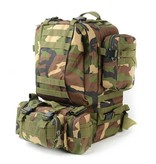 Olive Planet Ployester Fabric Military Travel Backpack