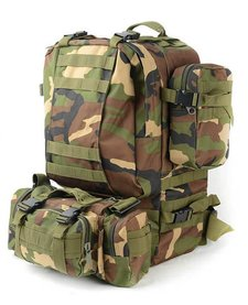 Ployester Fabric Military Travel Backpack