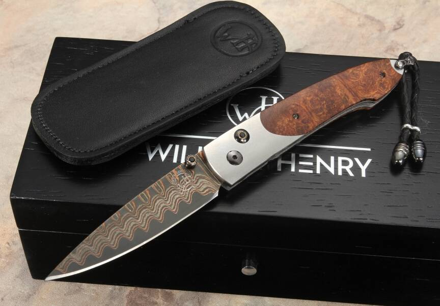 Pentagone Westchester Ironwood Folding knife