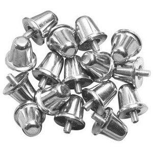 Gilbert Rugby Aluminium afdraainoppen 15 mm (per 16)
