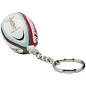 Gilbert Harlequins sleutelhanger met rugbybal