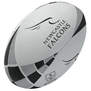 Gilbert rugbybal Newcastle Falcons