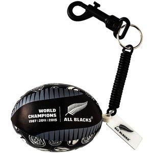 Rugby Distribution All Blacks Sleutelhanger Bungee bal