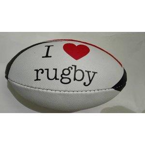 I Love Rugby mini bal
