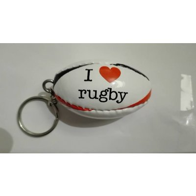 Sleutelhanger I love Rugby