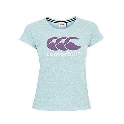 Canterbury T-shirt Logo Capri Dames